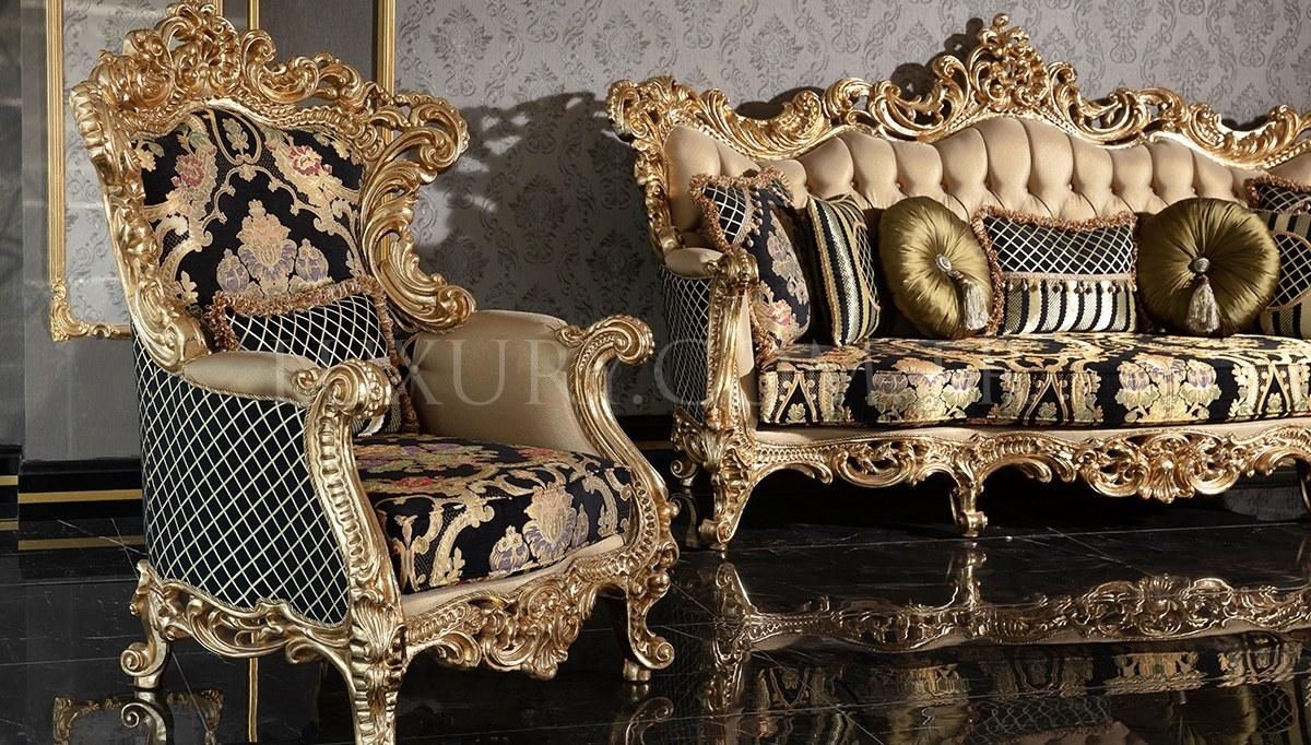 Lüks Veliaht Classic Living Room