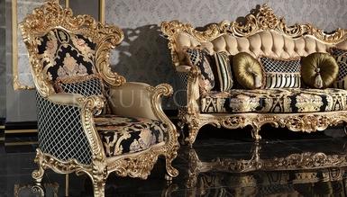 Lüks Veliaht Classic Living Room - Thumbnail