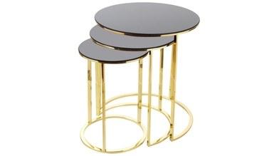 Bermana Metal Zigon Table