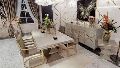 Cantona Metal Dining Room