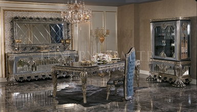 Cape Town Grey Classic Dining Room