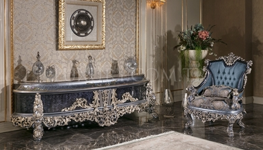 Cenova Mavi Classic Dining Room - Thumbnail
