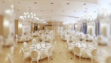 Creamlin Wedding Hall Decoration