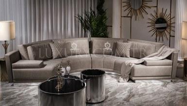 Delux Metal Corner Sofa - Thumbnail