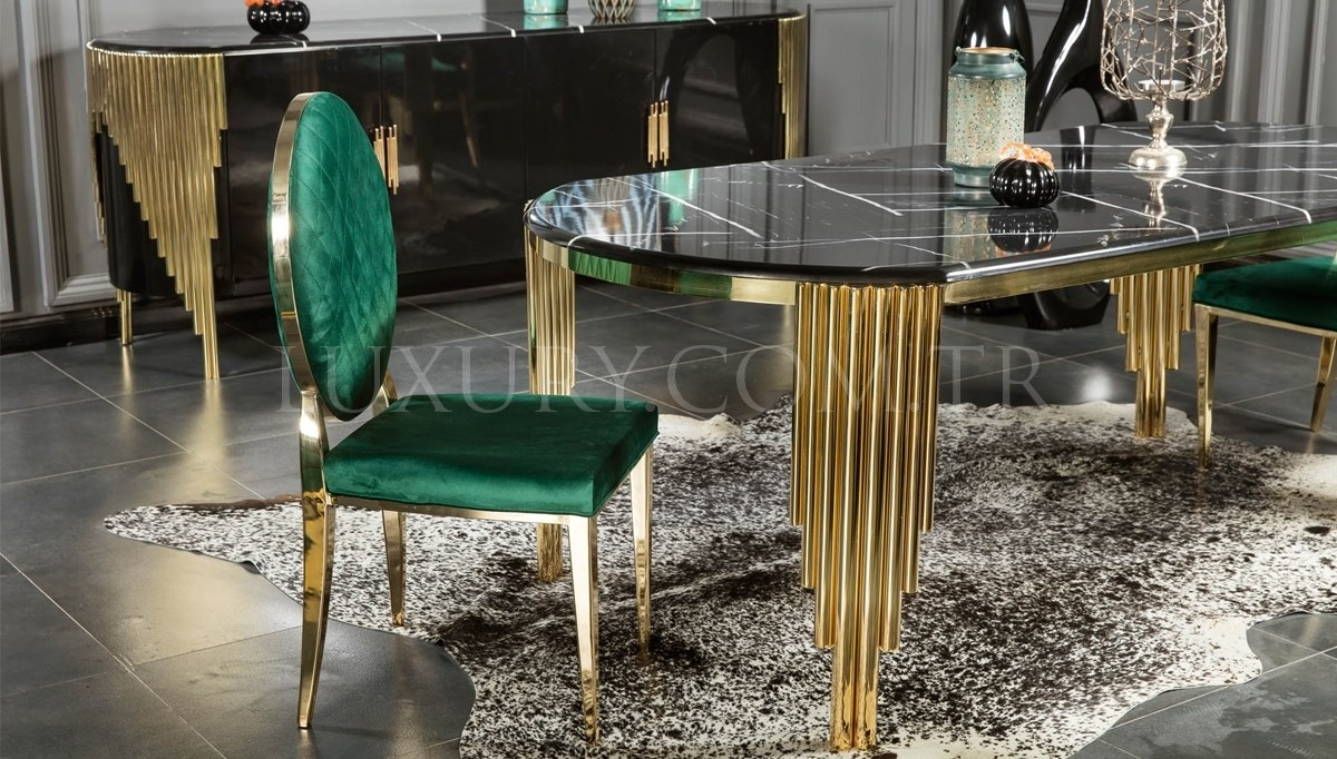 Destan Metal Dining Room