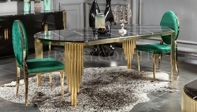 Destan Metal Dining Room - Thumbnail
