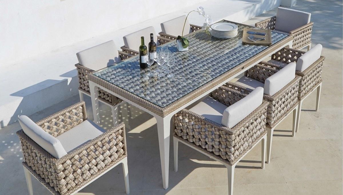 Eva Garden Table Set  Luxury Line