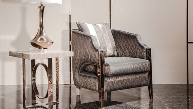 Evora Luxury Metal Living Room - Thumbnail