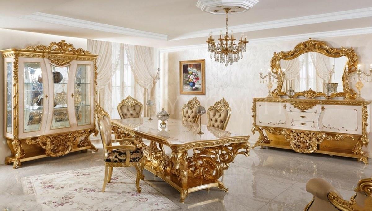 Fetih Paşa Lake Carved Classic Dining Room