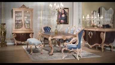 Fırat Brown Dining Room