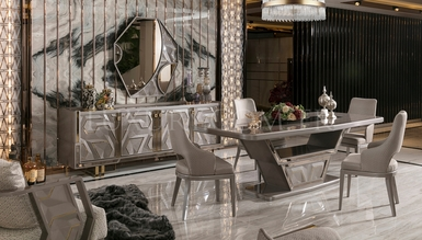 Gustora Metal Dining Room