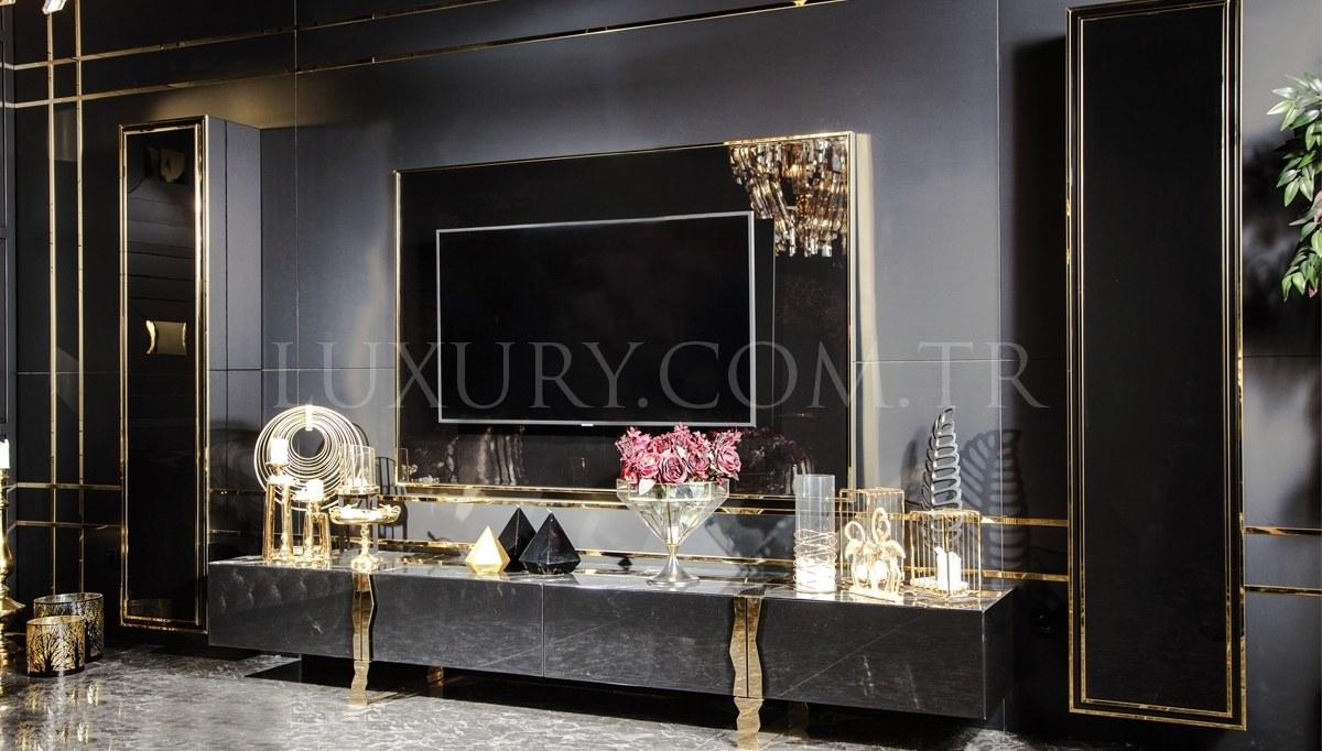 Henna Luxury Metal Dining Room