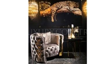 Henna Luxury Metal Living Room - Thumbnail