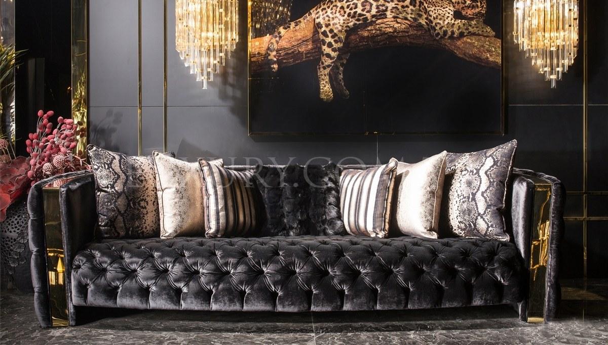 Henna Luxury Metal Living Room