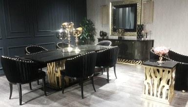 Leopar Black Classic Dining Room