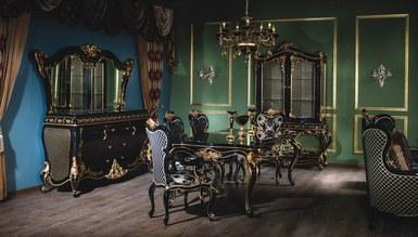Lerona Black Dining Room