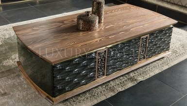 Lirena Metal Coffee Table - Thumbnail