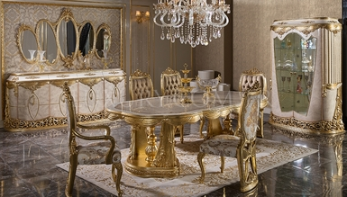 Lüks Aden Classic Dining Room