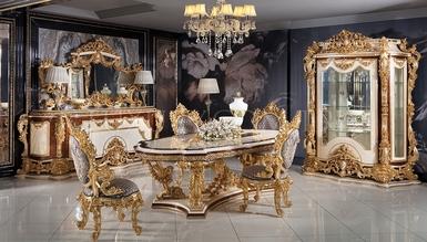 Lüks Aspendos Classic Dining Room
