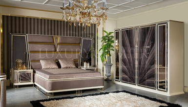 Lüks Bugatti Metal Bedroom