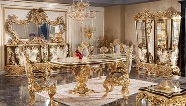 Lüks Golden Classic Dining Room