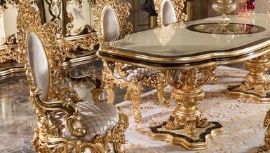 Lüks Golden Classic Dining Room - Thumbnail