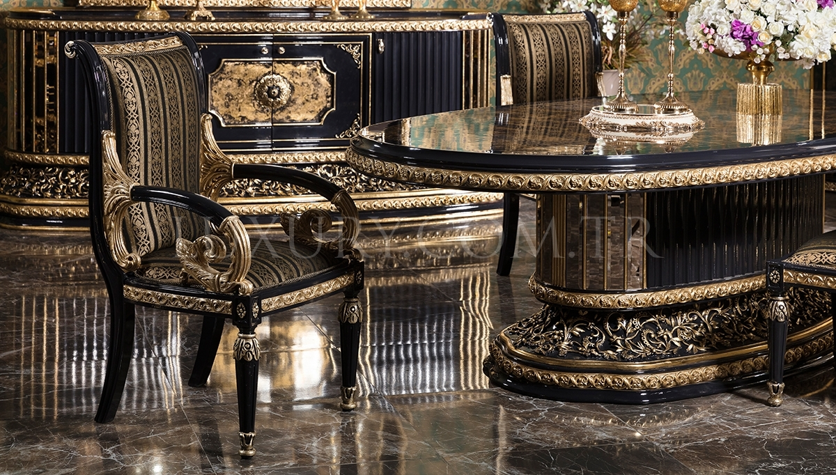 Lüks Hercai Classic Dining Room