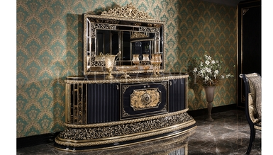 Lüks Hercai Classic Dining Room - Thumbnail