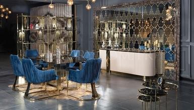 Lüks Pisa Luxury Dining Room