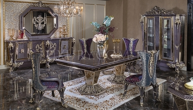 Lüks Şehzade Classic Dining Room