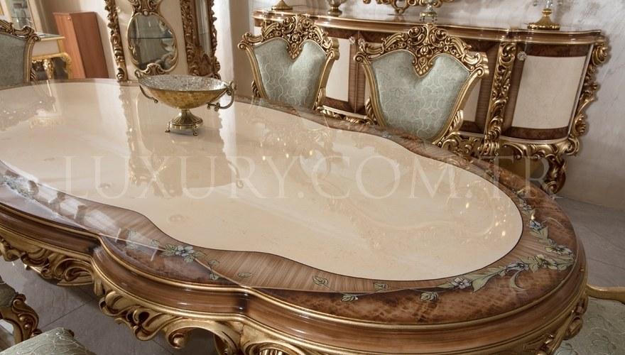 Lüks Sultan Classic Dining Room