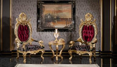 Lüks Tuğra Classic Living Room - Thumbnail