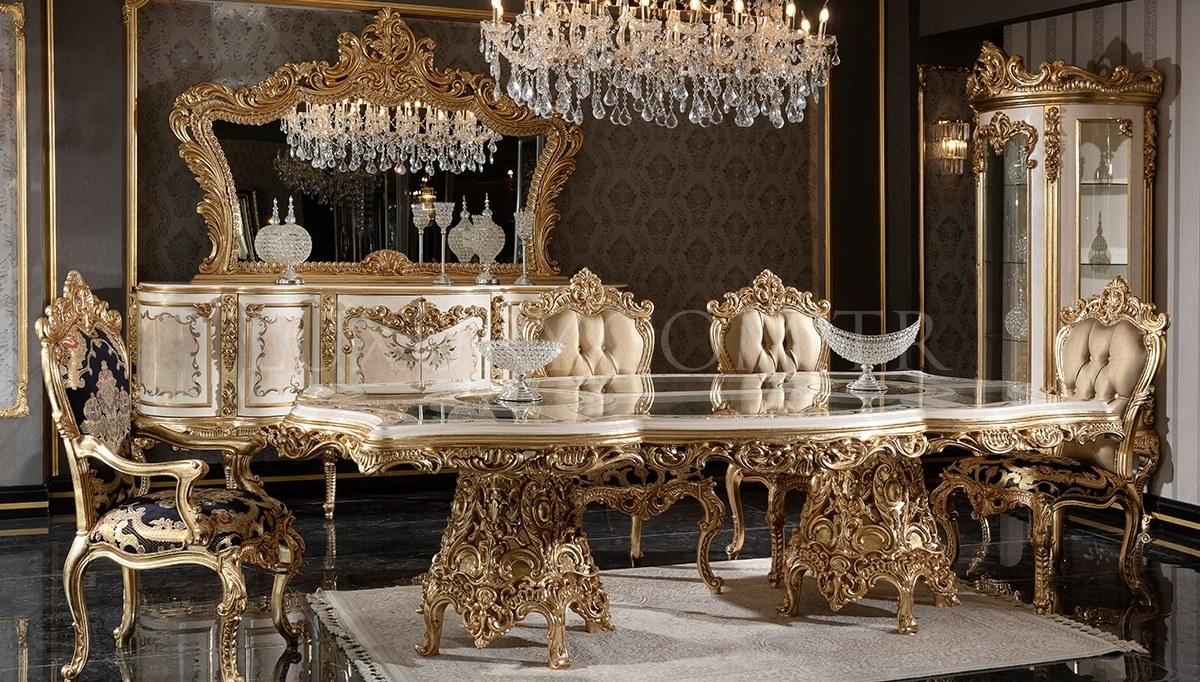 Lüks Veliaht Classic Dining Room