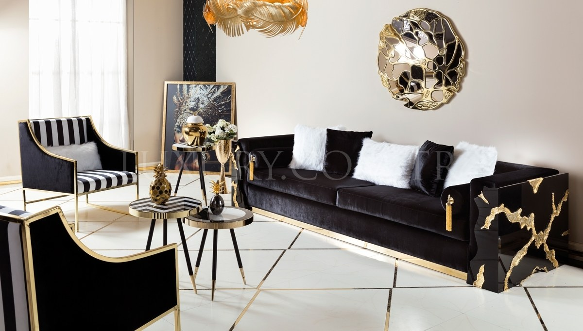 Luxury Metal Living Room