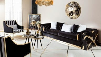 Luxury Metal Living Room