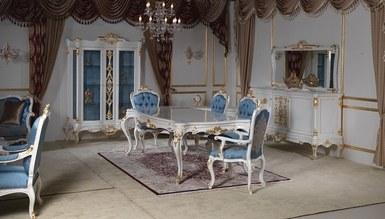 Madesa Blue Dining Room