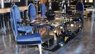 Magera Metal Dinner Table