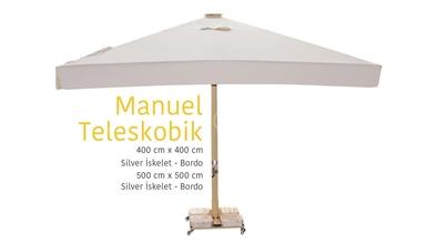 Manuel Teleskobik Garden Umbrella