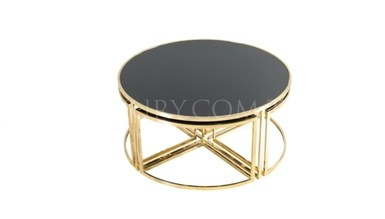 Maruka Gold Metal Coffee Table