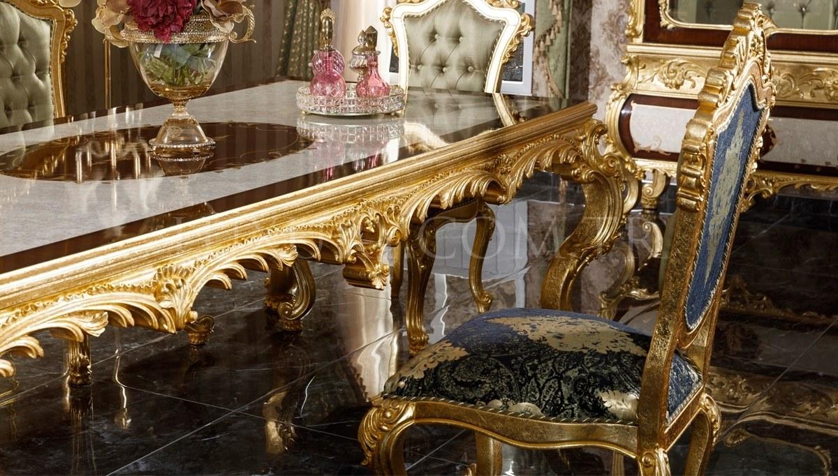 Monesa Gold Leaf Dining Room