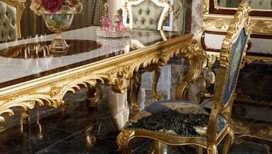 Monesa Gold Leaf Dining Room - Thumbnail