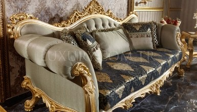 Monesa Gold Leaf Living Room - Thumbnail