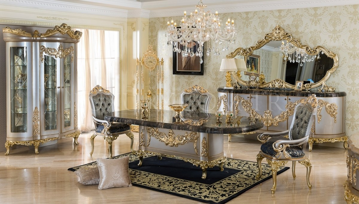 Ottoman Antrasit Dining Room