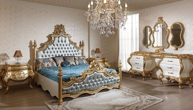 Padişah Gold Leaf Bedroom