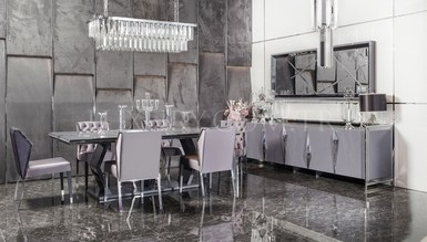 Rayona Luxury Metal Dining Room
