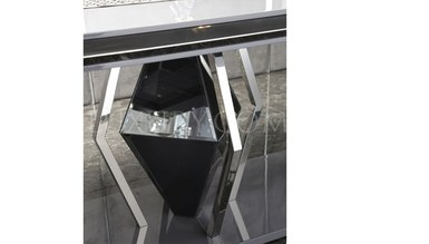 Rayona Luxury Metal Dining Room - Thumbnail