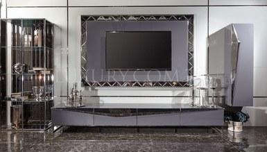 Rayona Luxury Metal TV Unit