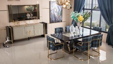 Sahra Metal Dining Room