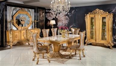 Şehzade Altın Varaklı Dining Room