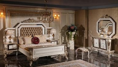 Şehzade White Classic Bedroom